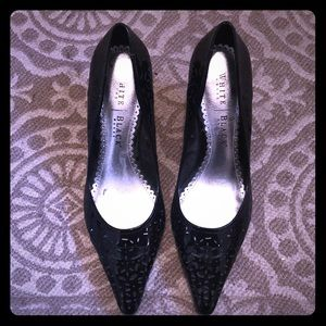White House Black Market kitten heels